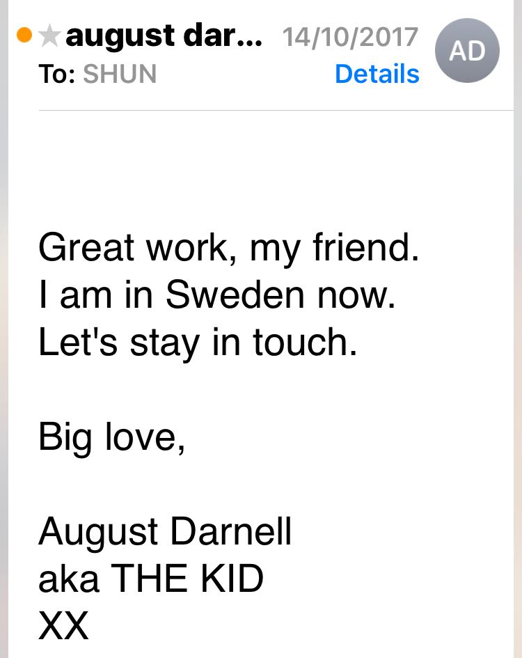 Shunyam - August Darnell